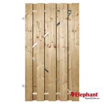 Elephant | Finch tuindeur met stalen frame | 100x180 cm | Vuren
