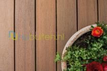 Fiberon | Symmetry | Warm Sienna | Vlonderplank 24 x 136 | 488 cm