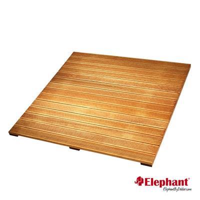 Elephant | Terrastegel Kempas FSC | 100x100cm
