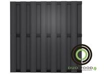 DuoWood | Black-line 180x180 cm