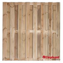 Elephant | Finch tuinscherm | 180x180 cm | Grenen