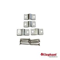 Elephant | Beslagset draadpaneelklem | Verzinkt