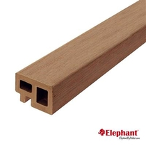 Elephant | Regel- en kantafwerking | 30x50 mm | 225 cm | Bruin | 2 stuks