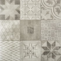 Gardenlux | Designo 60x60x4 | Mosaic Grey