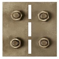 Gardenlux | Cortenstaal koppel-/hoekplaatjes