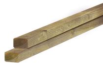 Douglas regel  | 45 x 45 mm | Geimpregneerd | Sc. 300 cm