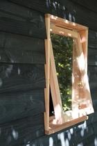 Woodvision | Stelkozijn t.b.v. raam | Zwart geïmpregneerd