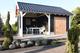 Douglasvision | Zadeldak Prestige 900 x 400 | Groen geimpregneerd