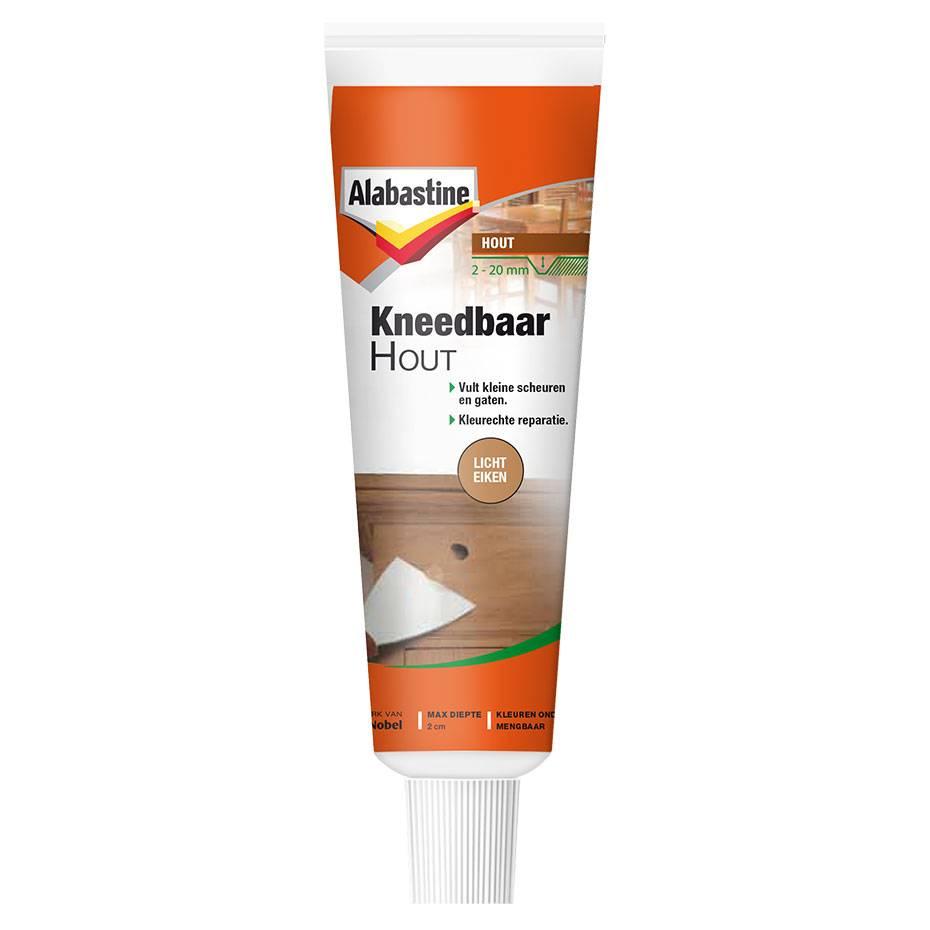 Alabastine | Kneedbaar hout | Licht eiken | 75 Gram