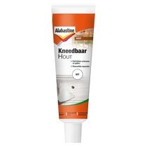 Alabastine | Kneedbaar hout | Wit | 75 Gram