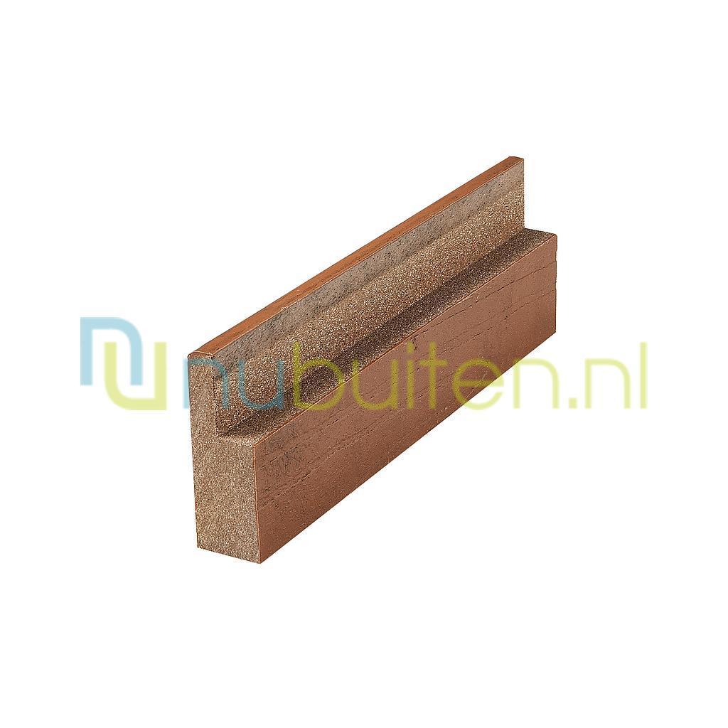 Fiberon | Symmetry plint | Cinnabar | 24 x 66 mm
