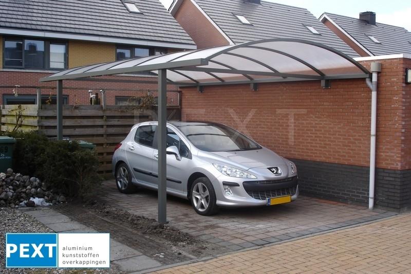 Pext | Carport Aluminium CP10 helder | 4060 x 2500 mm