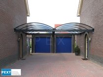 Pext | Carport Aluminium CP25 dubbel | Helder | 3060 x 5000 mm