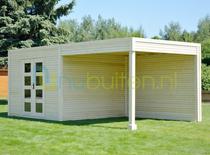 Smartshed | Premium blokhut Ligne Ultra | 500 x 250 cm