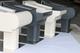 Deponti | Aluminium Terrasoverkapping Nebbiolo 404.5x250 | Creme-wit