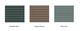 Duofuse | Klein U-profiel 2,7 x 3,5 | 202 cm | Graphite Black