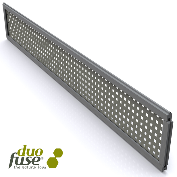 Duofuse | Aluminium Decopaneel Square | Graphite Black