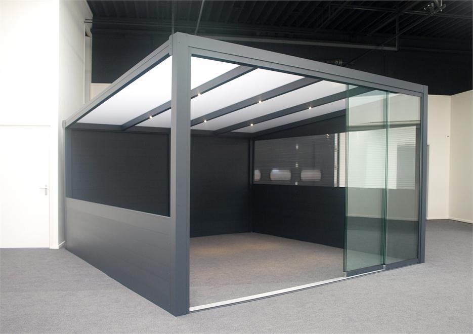 Deponti | Aluminium Terrasoverkapping Ribolla 606x400