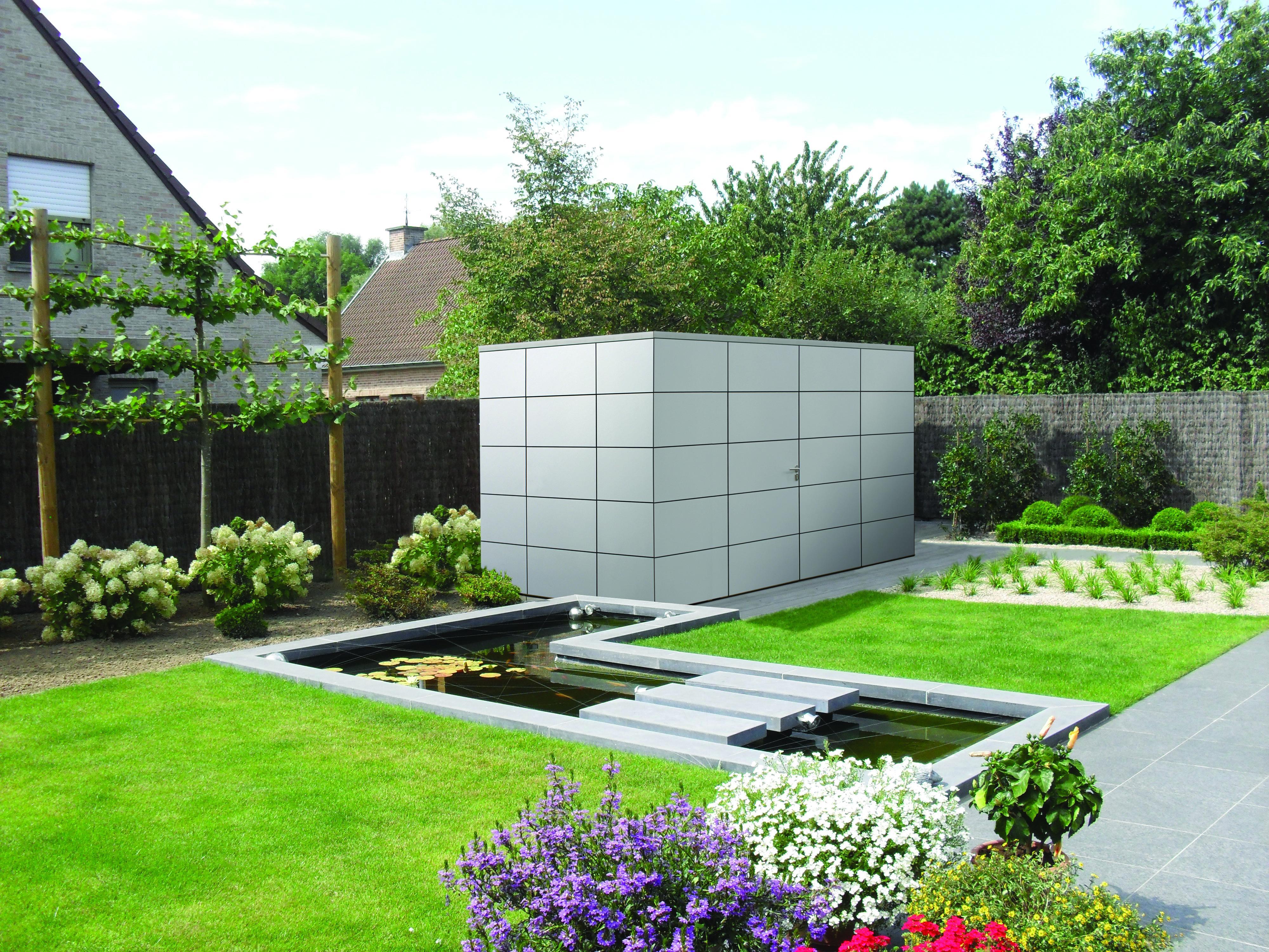 Gardival | Tuinhuis Panama D | 370 x 290 cm | Lichtgrijs