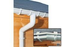 S-Lon | PVC Dakgoot Achthoekig dak GD16 | Grijs | 14 m