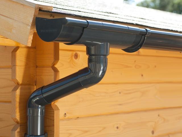 S-Lon | PVC Dakgoot Lessenaarsdak EXTRA100 | Antraciet | 525-700 cm