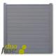 Duofuse | Tand- en groefscherm | 180 x 195cm  | Stone Grey