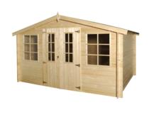 Gardenas | Blokhut Base XL | 505x295 cm