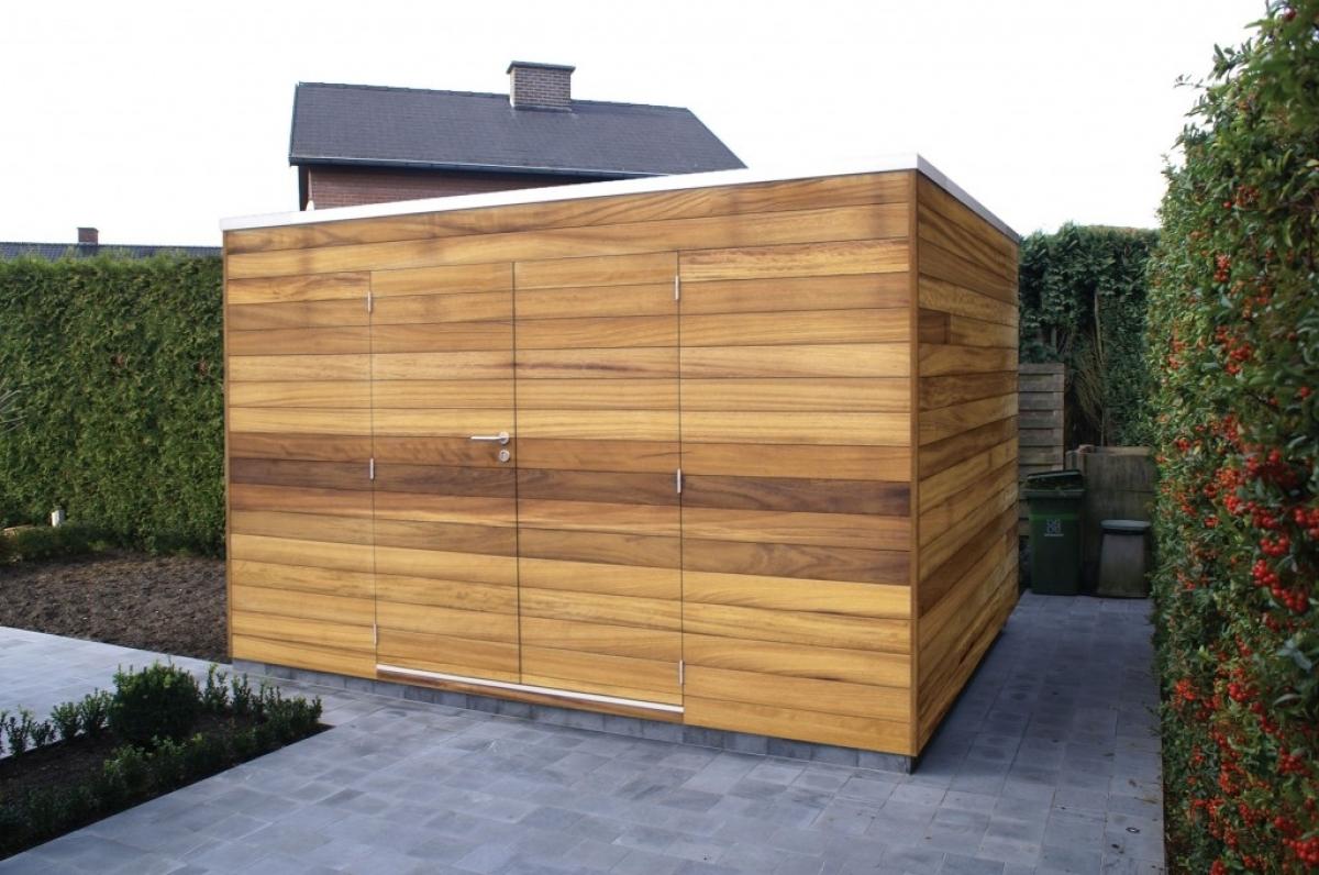 Gardival | Tuinhuis Box D Iroko | 400 x 300