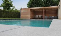 Gardival | Tuinhuis Box Iroko E 200x200 met luifel 200 cm