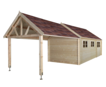 Gardenas   Garage Coventry XL 320x870 cm   Geimpregneerd