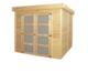 Gardenas | Blokhut Box geimpregneerd | 240x240 cm