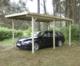 Gardenas | Carport Basic Enkel | 300x600 cm