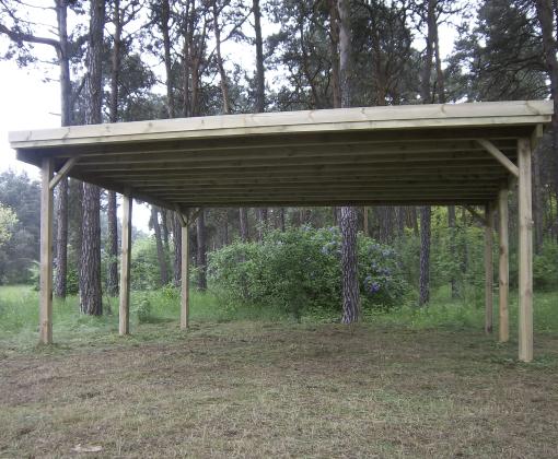 Gardenas   Carport dubbel   510x500 cm