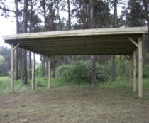 Gardenas | Carport dubbel | 510x500 cm
