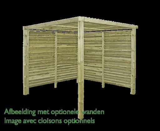 Gardenas | Outdoor Living Mood Enkel | 250x250 cm