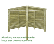 Gardenas | Outdoor Living Mood Enkel | 250x250 cm