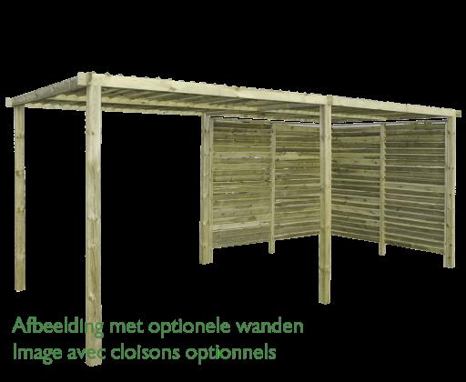 Gardenas | Outdoor Living Mood Dubbel | 498x250 cm