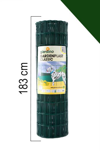 Giardino | Gardenplast Classic | 183cm x 25m | RAL6005 Groen