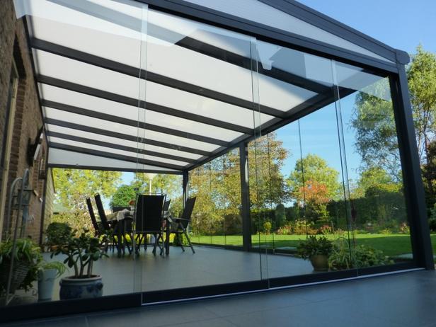 Westwood   Glazen schuifwand   220x64 cm