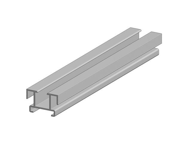 Aslon | Aluminium balk | 2.3 x 3.5 x 400 cm