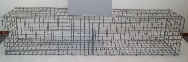 Westwood | Schanskorf | 2m x 0,45m x 0,47m | Duitse kalksteen 40-80mm
