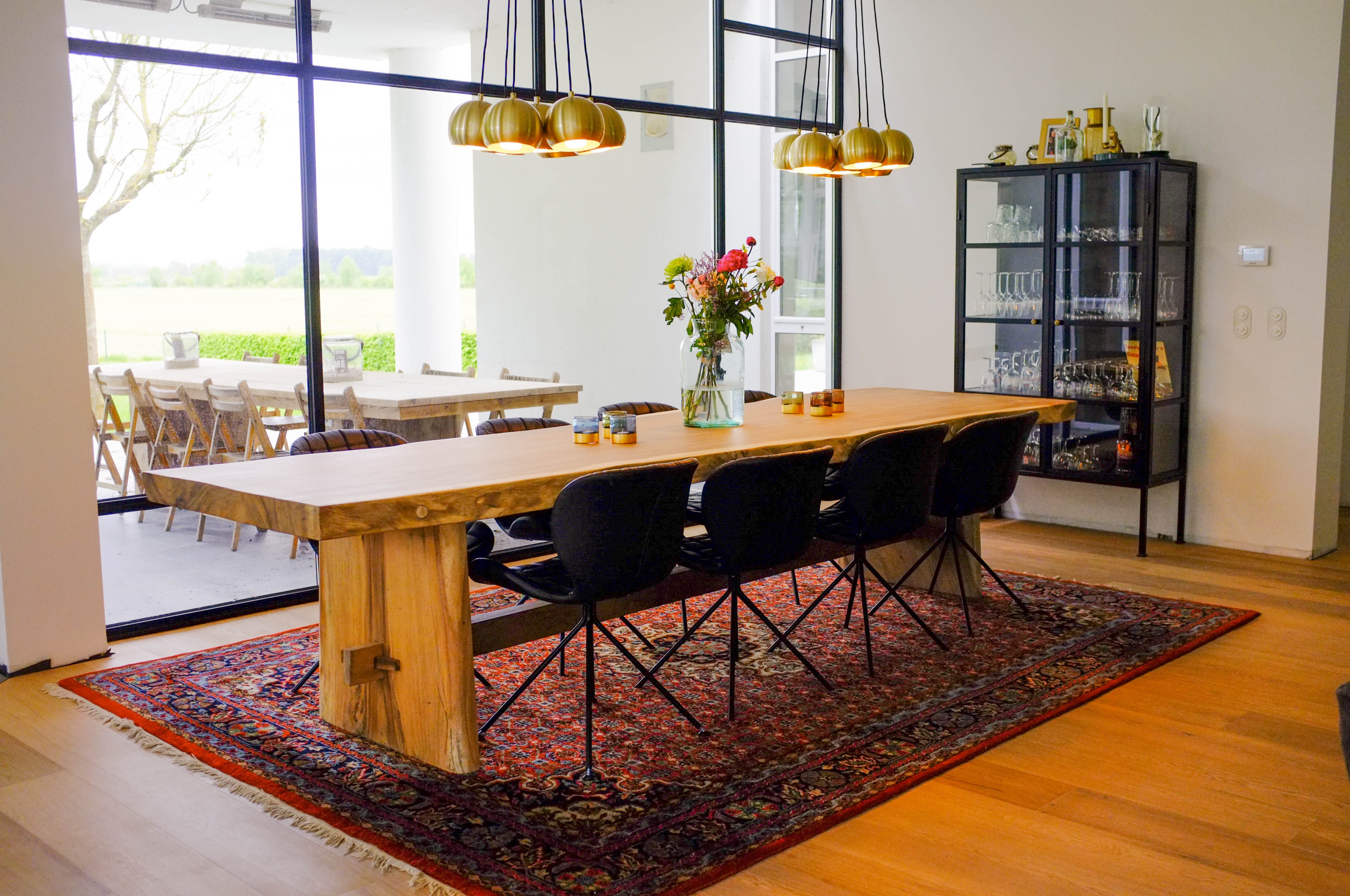 Image of Westwood | Hardhouten tafelblad | 400x110/120 cm
