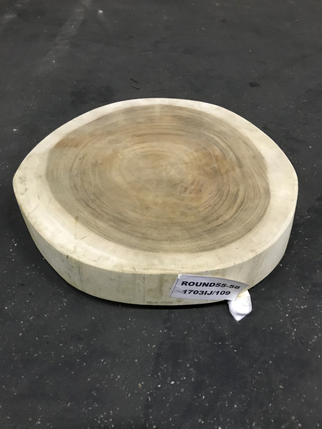 Tafelblad Rond 100 Cm.Westwood Hardhouten Tafelblad Rond 100 Cm
