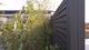 Duofuse | Lamellenafsluiting-scherm | 200 x 180cm  | Graphite Black