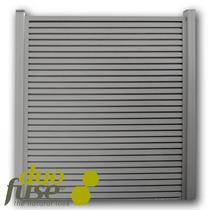Duofuse | Lamellenafsluiting-scherm | 200 x 180cm  | Stone Grey