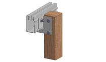 Aslon | montageplaat | incl hamerkopbout en 1 kraagkartelmoer