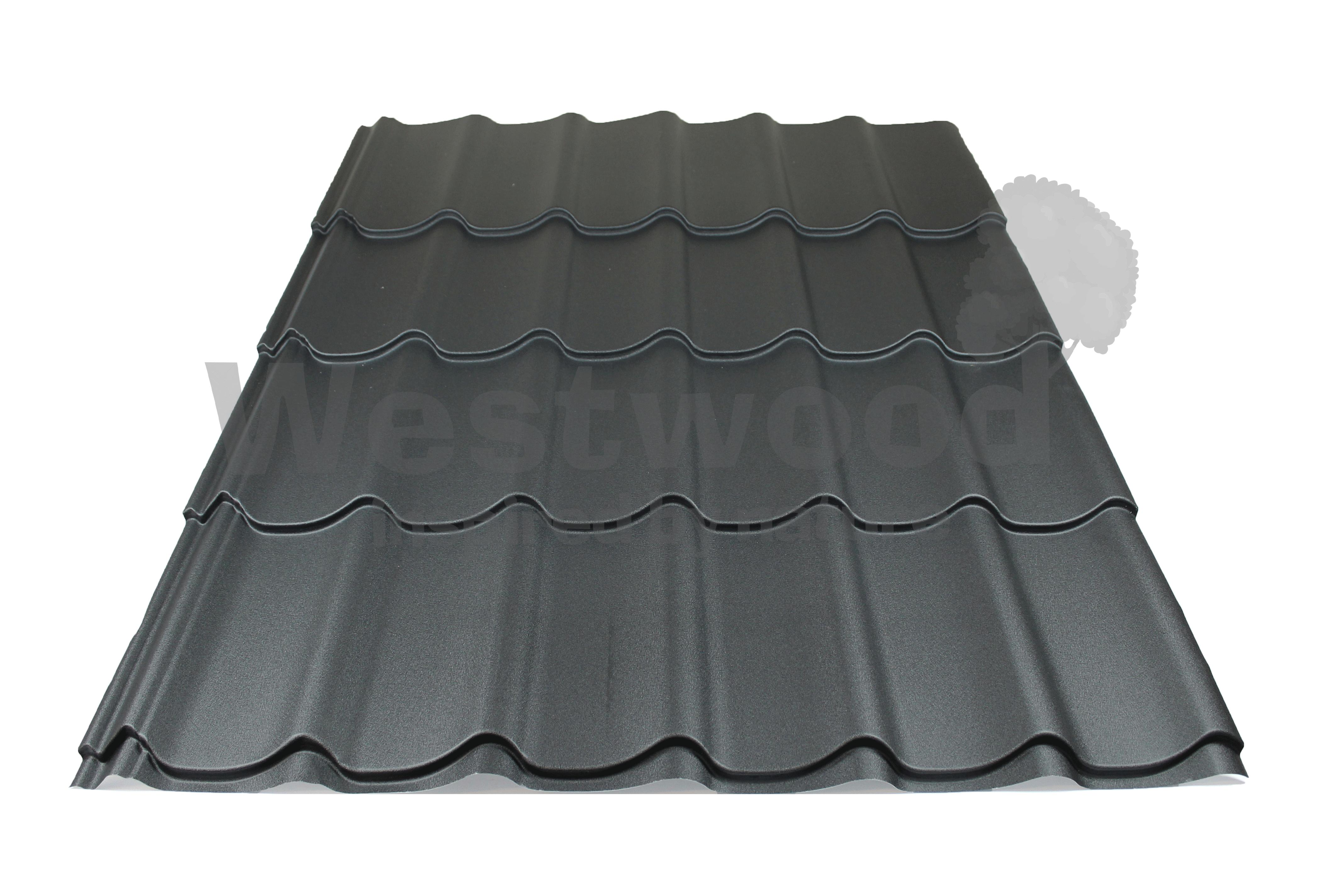 Arcelor Mittal | Dakpanplaat mat | Luna | Grijs | 4050 mm