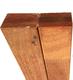 Hardhouten regel | Bangkirai | Gelamineerd | 40 x 60 mm | Sc. 390 cm