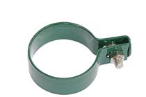 Giardino | Eindklem metaal | Ronde paal | 48mm | RAL6005 Groen