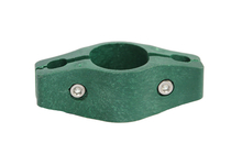 Giardino | Middenklem plastic | Ronde paal | 40mm | RAL6005 Groen